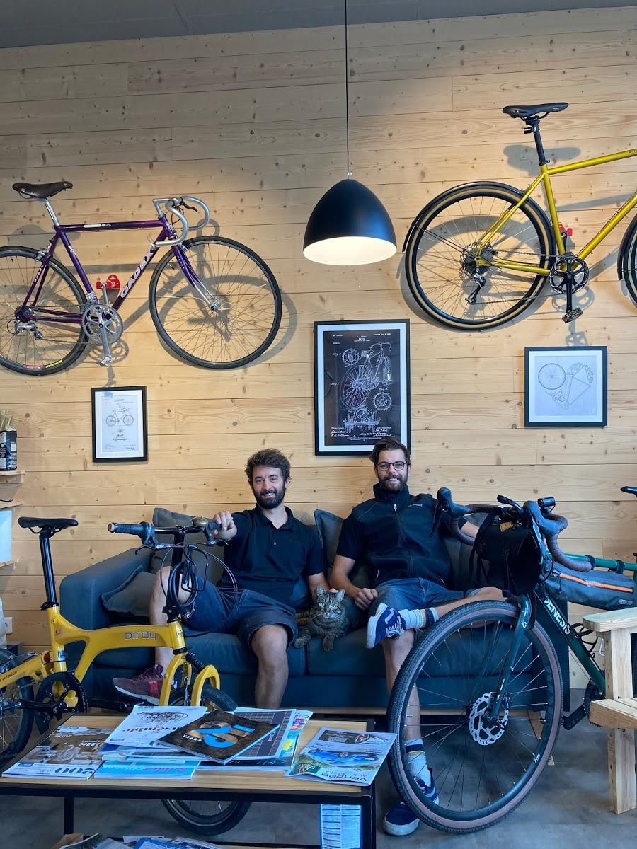 L'équipe de Vélo des Sables