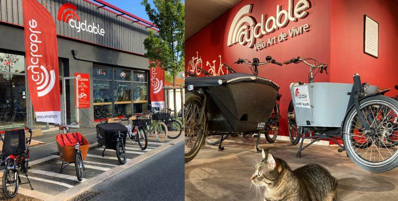 Magasin de vélo aux Sables d'Olonne