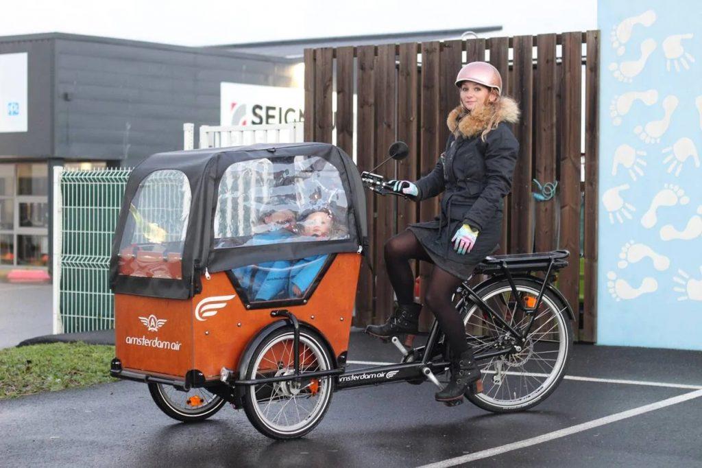 Le vélo cargo à la conquête de la ville des Sables ?