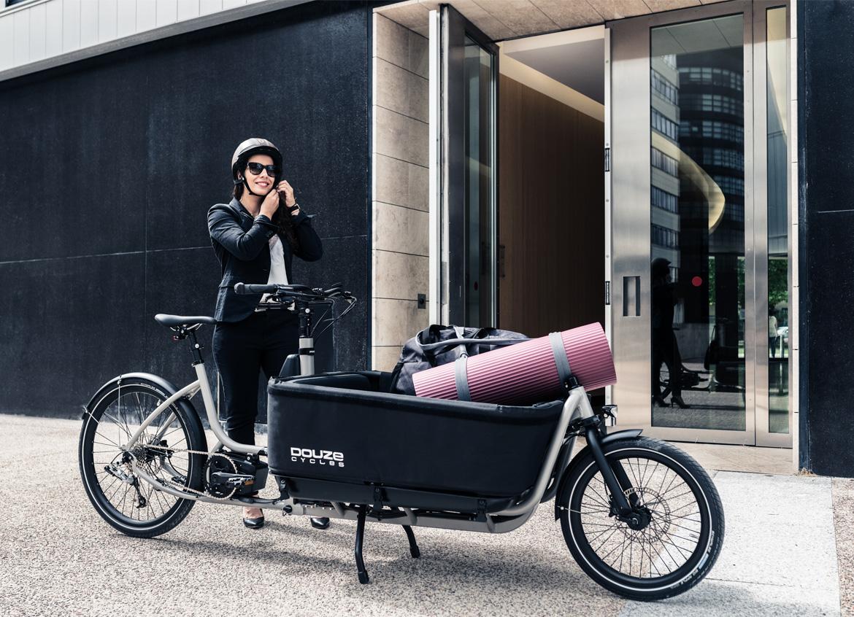 Vélo cargo électrique en deuxième véhicule