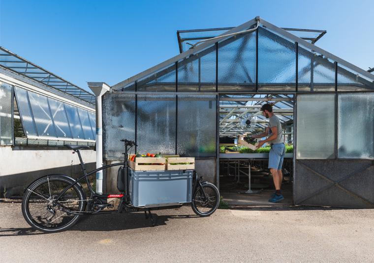 Vélo cargo électrique pour les professionnels